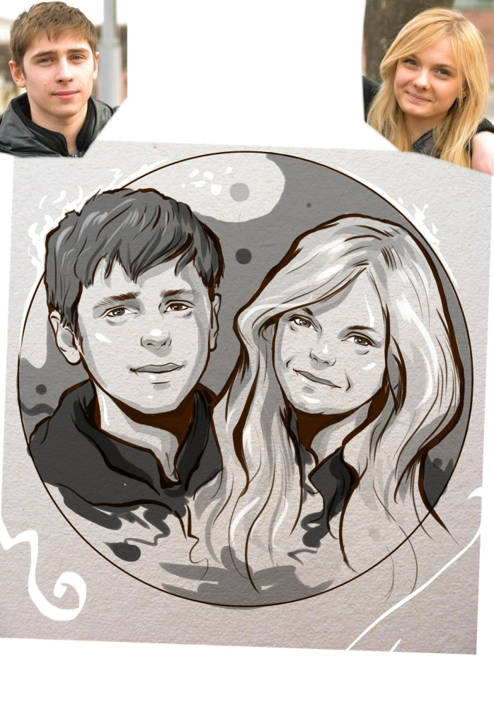 Заказать портрет на годовщину свадьбы в Кемерово