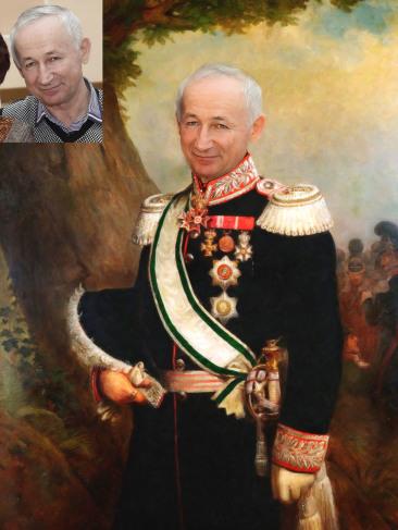 Где заказать исторический портрет по фото на холсте в Кемерово?