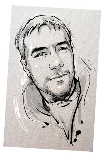 Портрет карандашом любимому мужу в Кемерово…