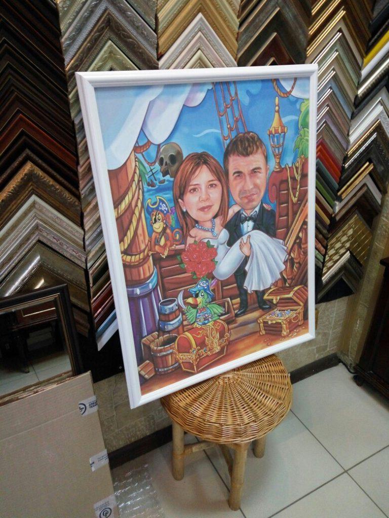 портрет шарж на заказ в кемерово