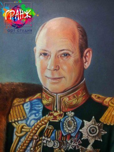 Заказать портрет маслом в Кемерово