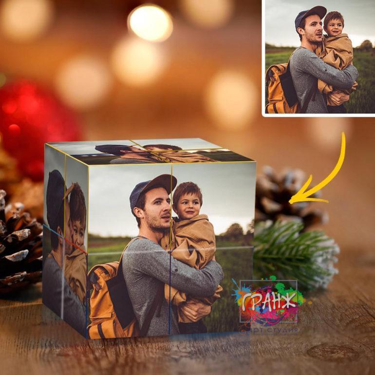 Фотокубик трансформер, купить в подарок Кемерово