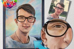 Портретная живопись маслом, купить в Кемерово